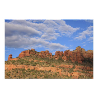 Sedona Rocks & Sky Poster