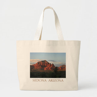 Sedona Sunset Large Tote Bag