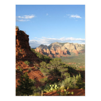 Sedona Sunset Postcard