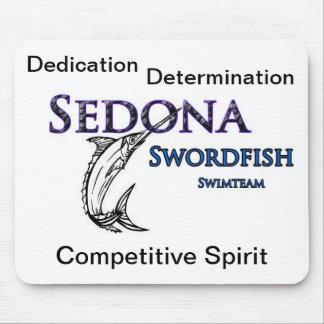 Sedona Swordfish Swim Team Mouse Pad
