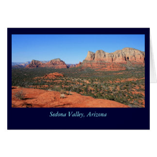 Sedona Valley Card