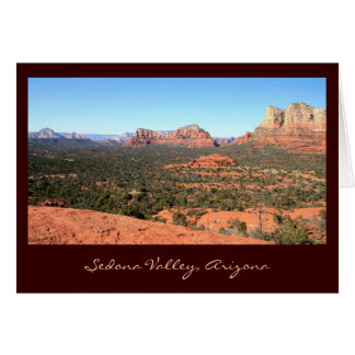 Sedona Valley Views Card