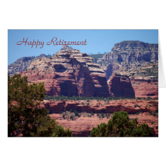 Sedona View, Happy Retirement Card
