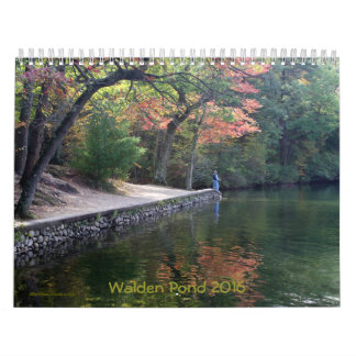 **see 2018 Walden Pond or chg front cover year Calendar