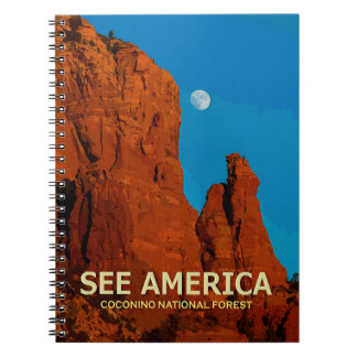 """See America"" Coconino National Forest Notebook"