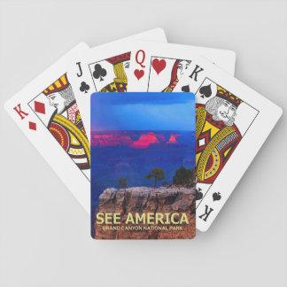 """See America"" Grand Canyon Nat'l Park Card Deck"