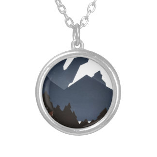 See America Welcome to Montana Silver Plated Necklace