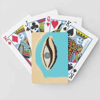 See blue bicycle playing cards