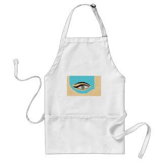 See blue standard apron