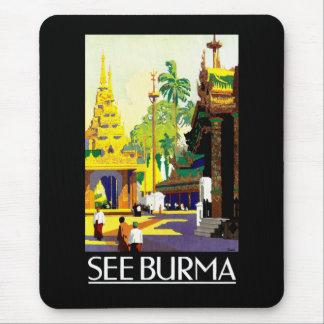 See Burma Mouse Pad