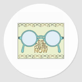 See Clearer Now Stickers