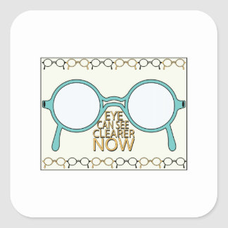 See Clearer Now Sticker