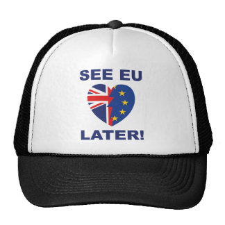 See EU Later Trucker Hat