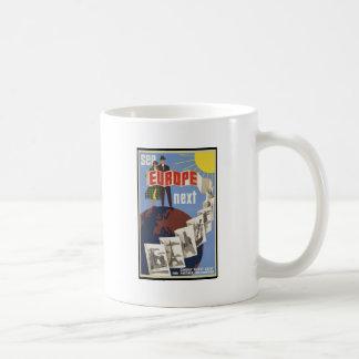See Europe Next Classic White Coffee Mug