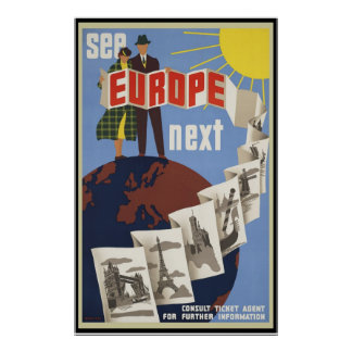 See Europe Next Poster