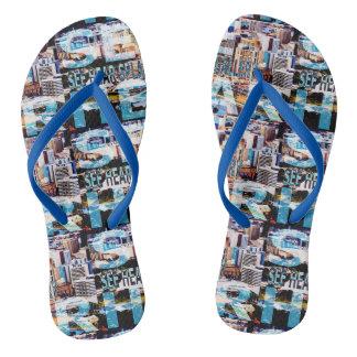 See Hear Splash Adelaide Flip Flops