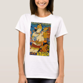 See India ~ Ajanta Frescoes T-Shirt