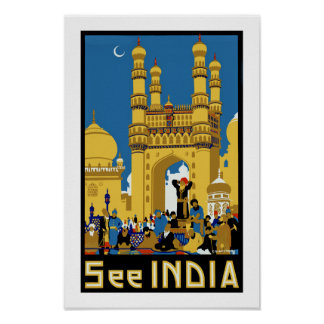 See India ~ Hyderabad Poster
