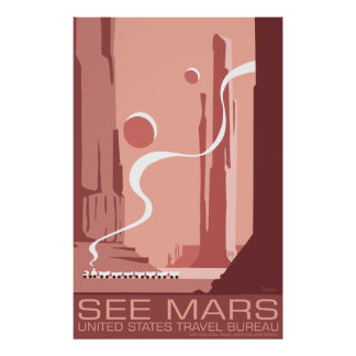 See Mars Large Poster