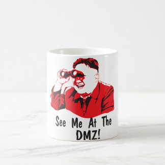 See me. coffee mug