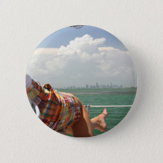 See Miami like a Native 2 Inch Round Button