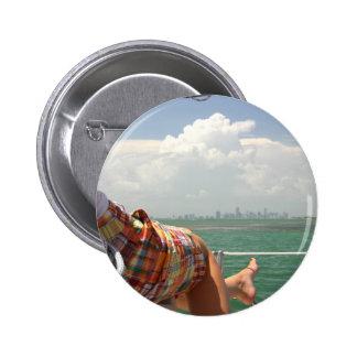 See Miami like a Native 2 Inch Round Button