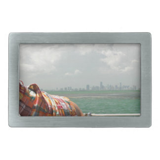 See Miami like a Native Rectangular Belt Buckles