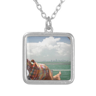 See Miami like a Native Silver Plated Necklace
