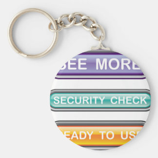 See more Security check Ready to use Buttons Gloss Basic Round Button Keychain