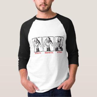 See No Evil.  Hear No Evil.  Eat Brains. T-Shirt