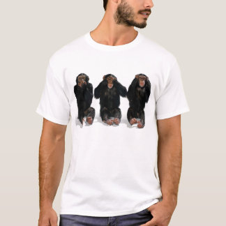 See no evil, Hear no evil, Speak no evil T-Shirt