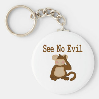 See No Evil Keychain