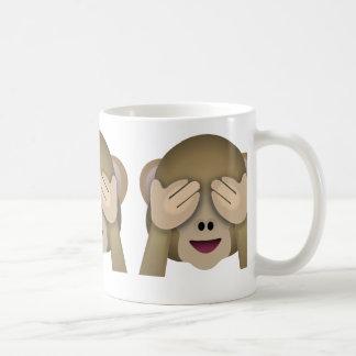 See No Evil Monkey Emoji Coffee Mug