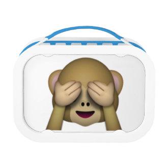 See No Evil Monkey - Emoji Lunchboxes