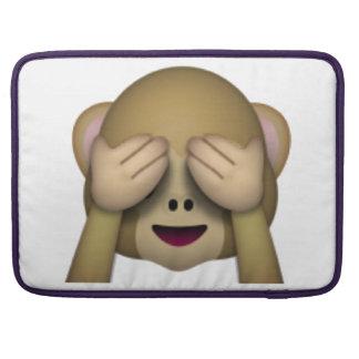 See No Evil Monkey - Emoji Sleeve For MacBook Pro