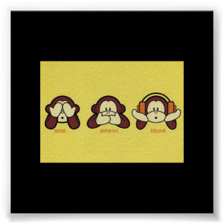See No Evil, Speak No Evil, Hear No Evil Poster