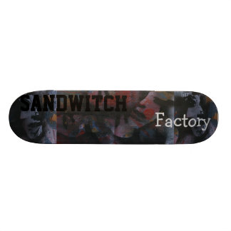 see no factory taste no sandwitch skate board decks