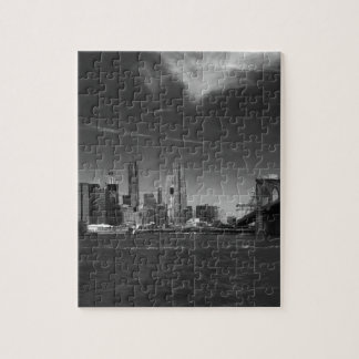 see on 2 products Panoramic Black White Brooklyn Puzzle