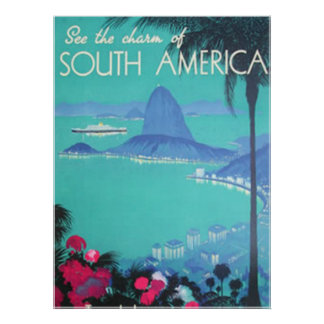 See South America Print