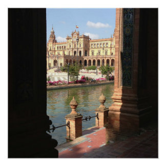 """See Spain 20"""" x 20"""", Poster Paper (Semi-Gloss) Perfect Poster"""
