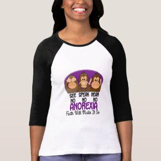 See Speak Hear No Anorexia 1 T-Shirt