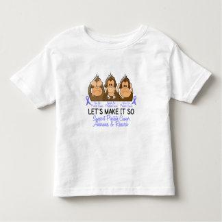 See Speak Hear No Prostate Cancer 2 T Shirt