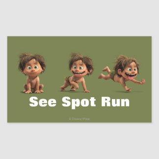 See Spot Run Sticker