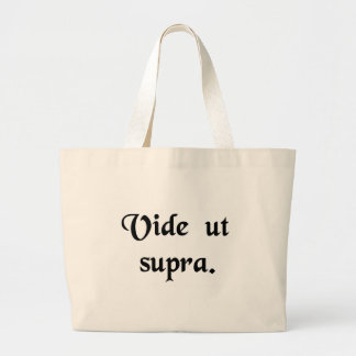 See the above. large tote bag