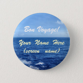 See the Sea 2 Inch Round Button