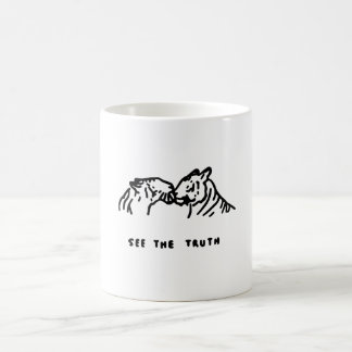 See the truth - Mug