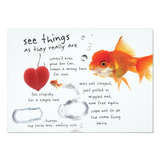 see things | mini-print card