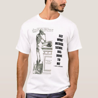 See What Medical School Has Done To Me T-Shirt