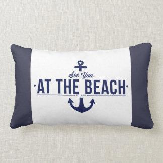 See You At The Beach Cushion
