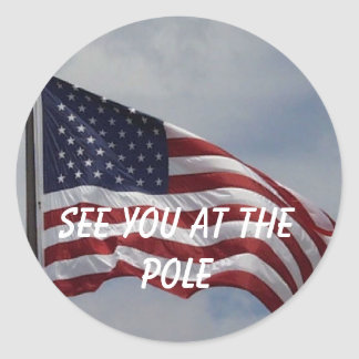 See you at the pole sticker